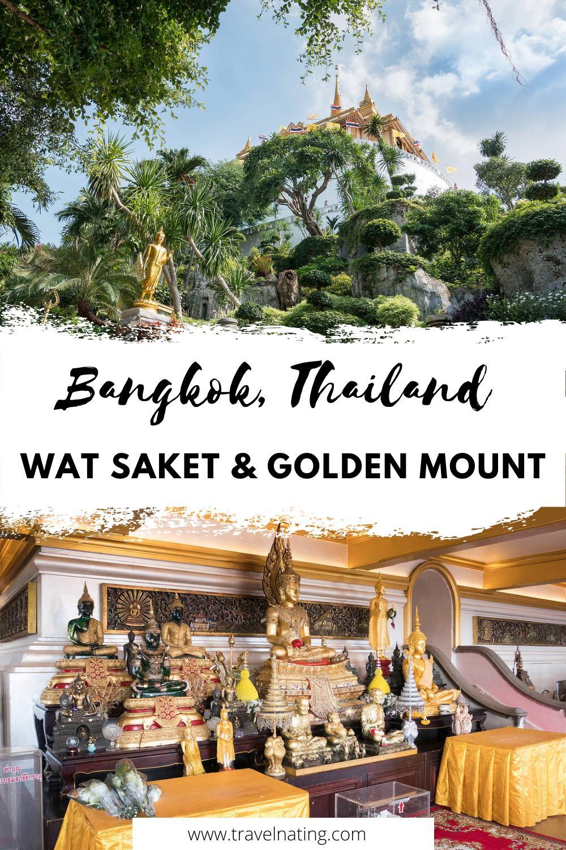 Wat Saket, Bangkok - Pinterest Pin