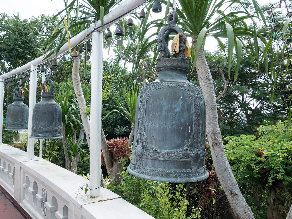 Wat Saket - Tempelglocken