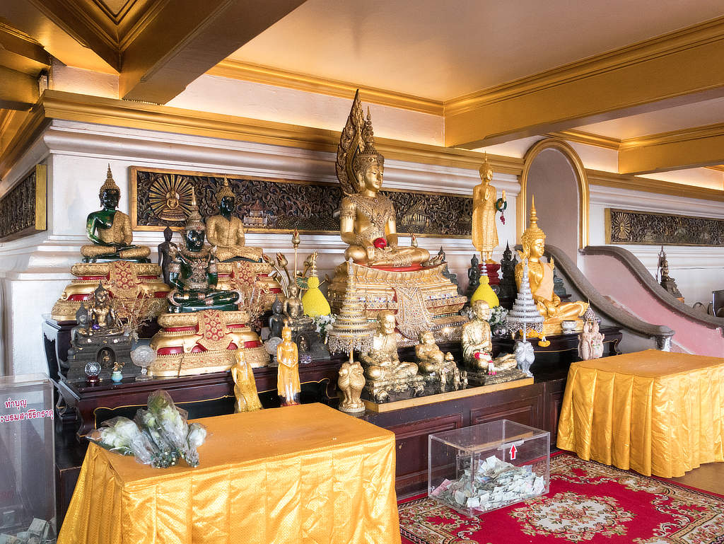 Tempel des Goldenen Berges - Innere des Tempels