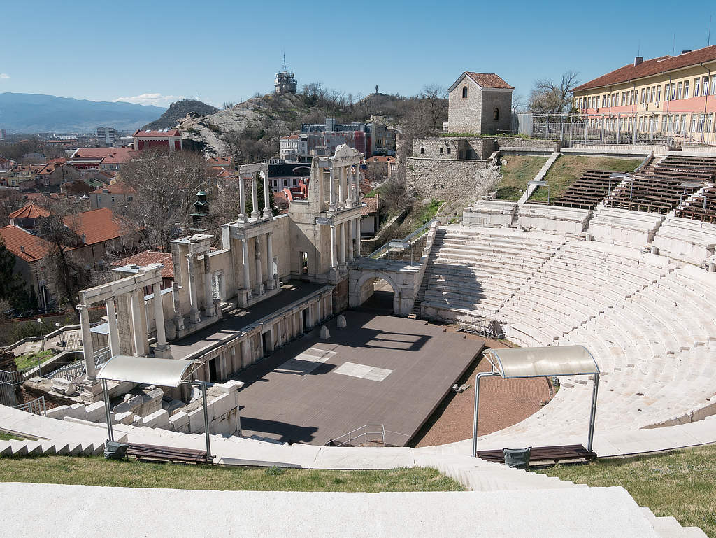 Plovdiv Antikes Theater