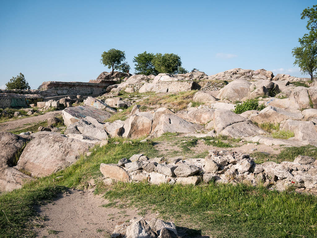 Nebet Tepe Plovdiv - Überreste