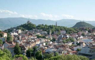 Plovdiv Nebet Tepe Aussicht
