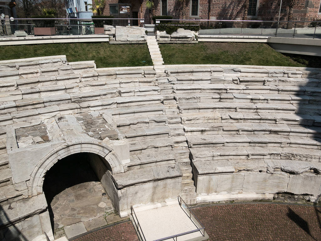 Römisches Stadion Plovdiv Bulgarien