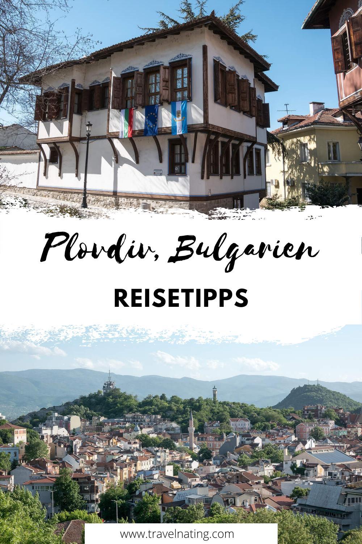 Plovdiv Reisetipps - Pinterest Pin
