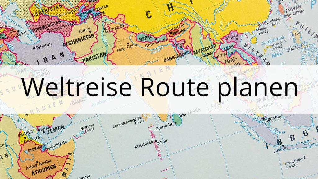 Weltreise Route planen - Thumbnail