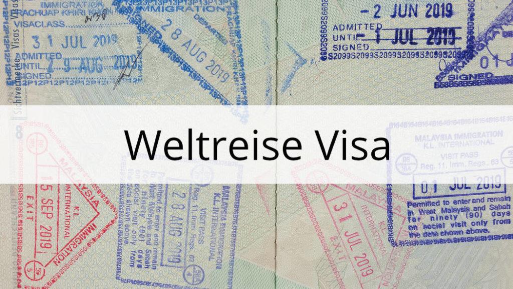 Weltreise Visa und Einreisebestimmungen Thumbnail