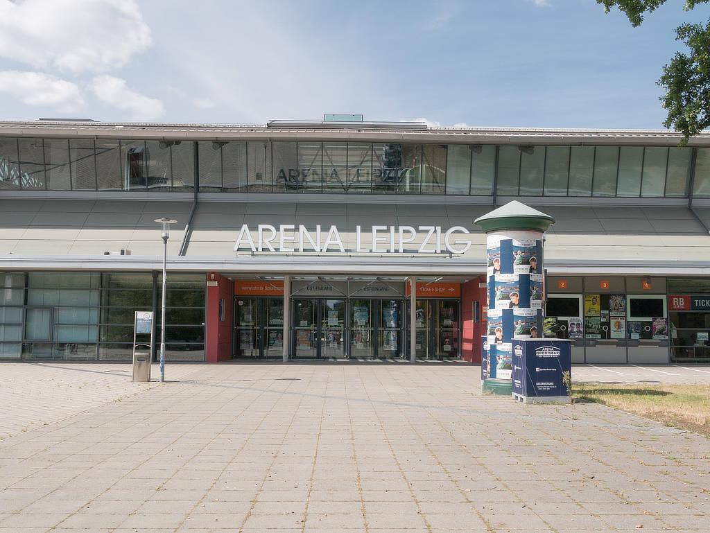 Arena Leipzig Eingang