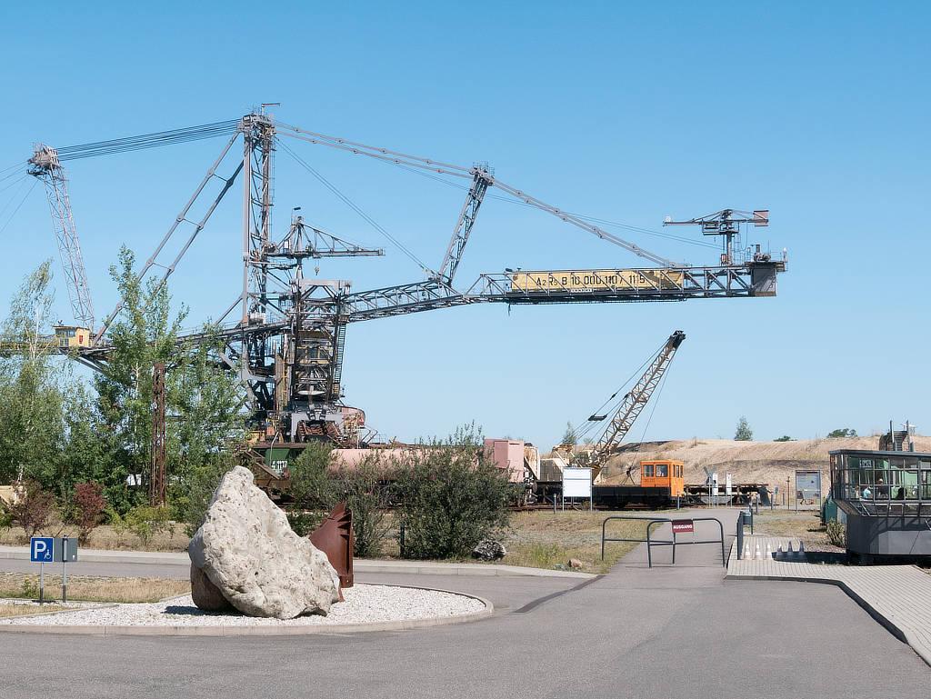 Bergbau Technik Park Eingang