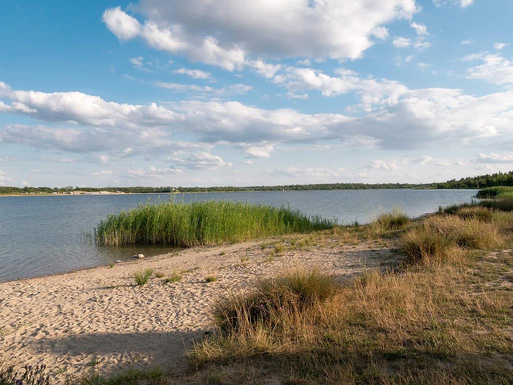 Wolteritzer Strand am Schladitzer See