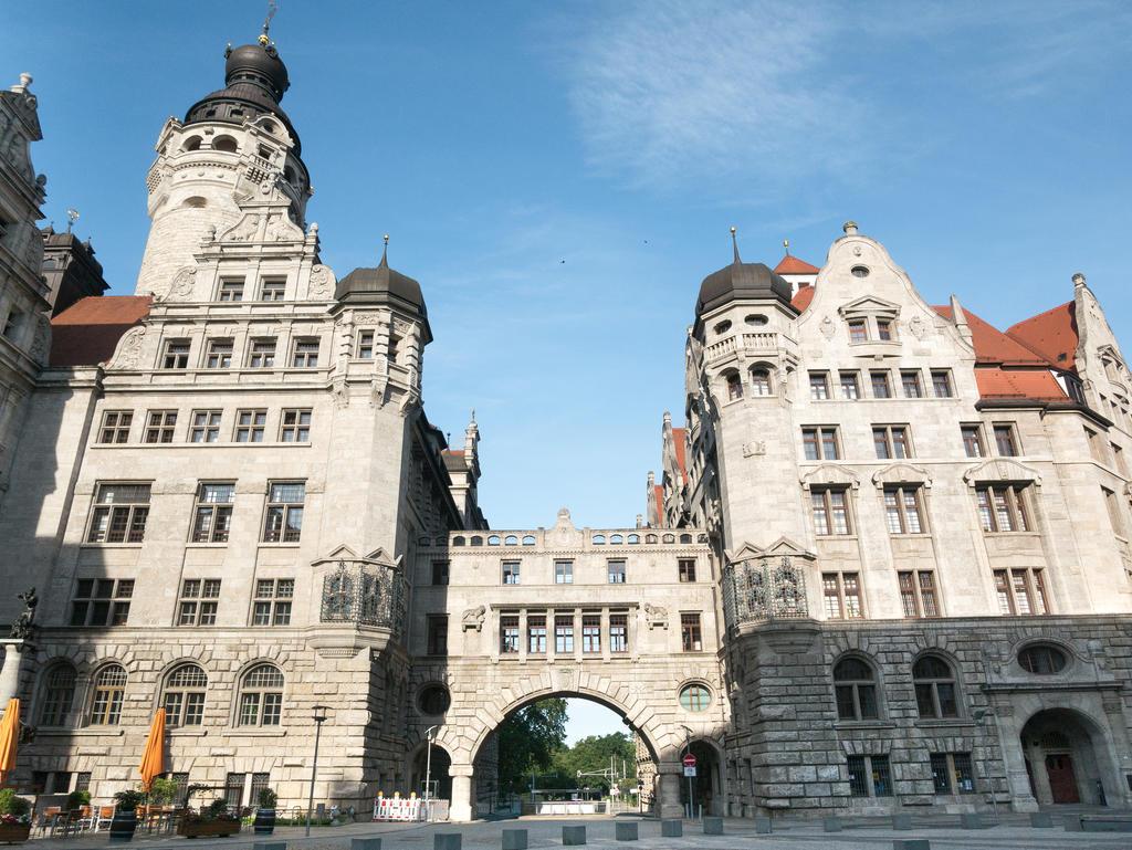 Durchgang beim Neuen Rathaus