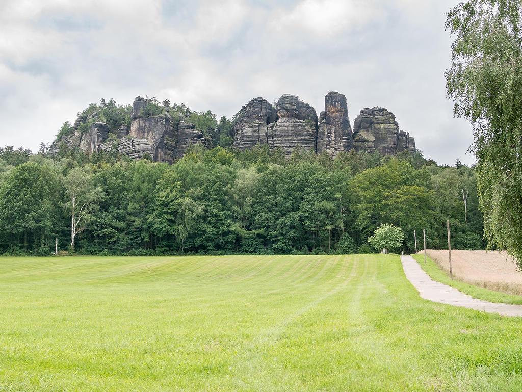 Blick auf den Pfaffenstein