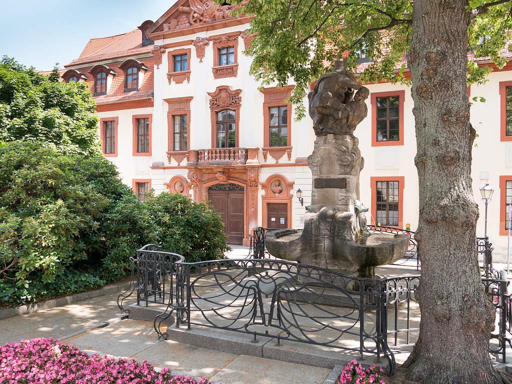 Skatbrunnen in Altenburg