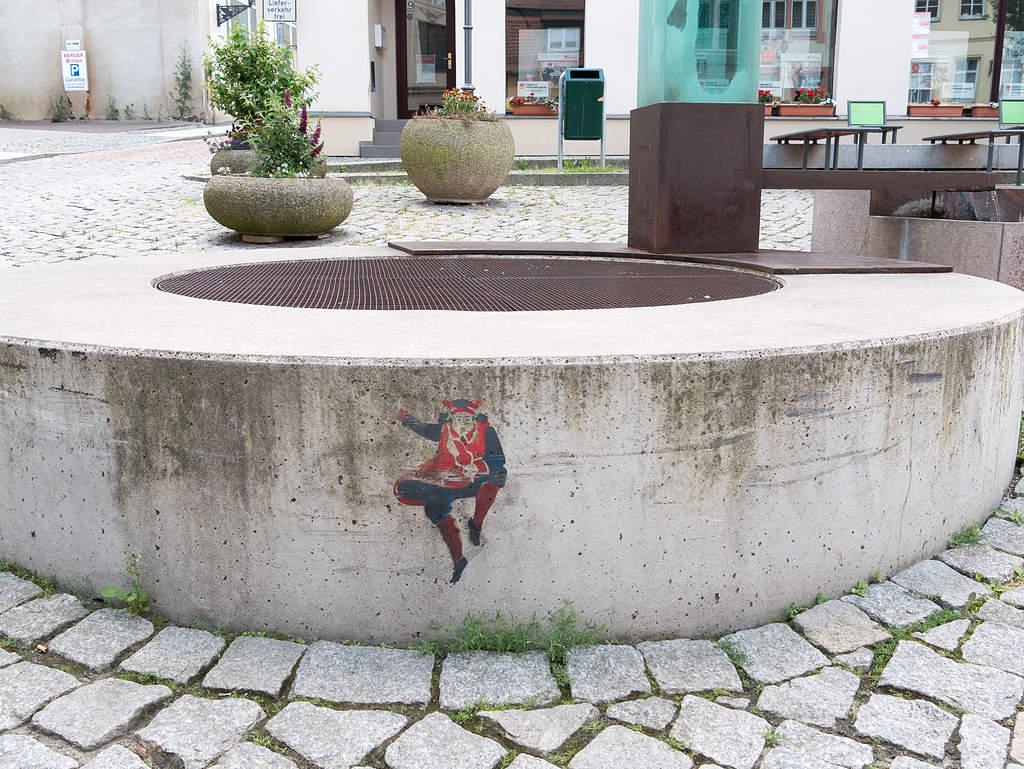 Joker auf Spielkarten Erlebnispfad Altenburg