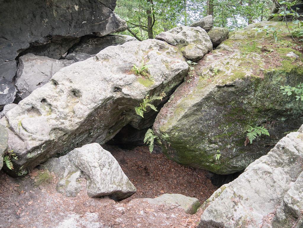 Steine auf Kleinhennersdorfer Stein